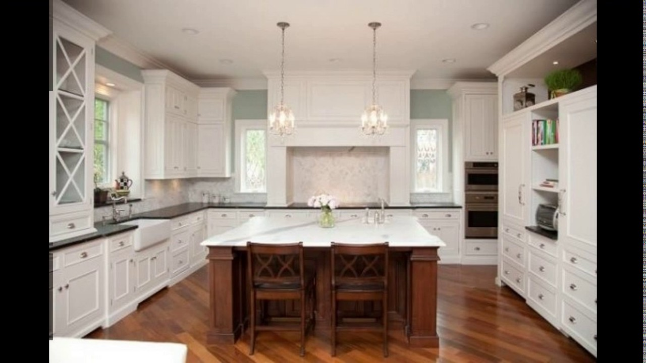 12 x 11 kitchen design youtube - 10x10 kitchen designs with island ...