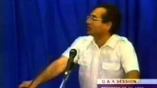 Mirza Ghulam Ahmad PREGNANT by ALLAH - Ahmadiyya Khalifa explains Part1
