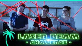 Laser Beam Challenge ! ft. Un Panda Moqueur