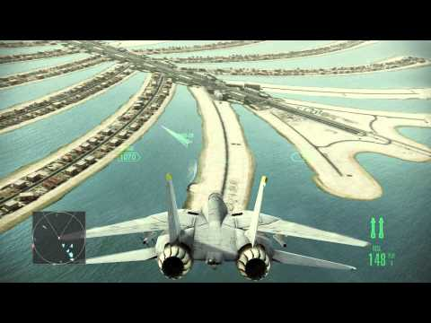 Попробуем Ace Combat Assault Horizon