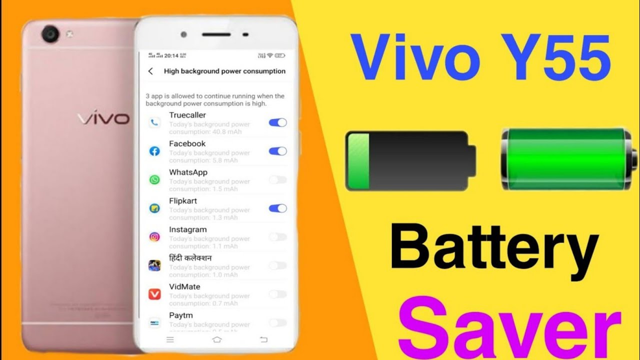 Download How To Save Battery Power On Vivo Y55 || Technical Vijay