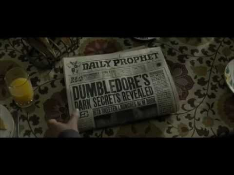 Interactive newspaper from Harry Potter movie