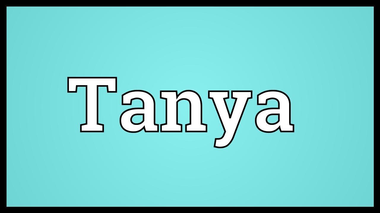thanya meaning