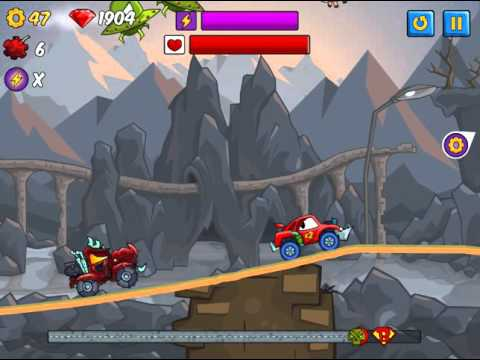 Флеш игра Хищные машины 2 Делюкс 4 серия Игра Car Eats Car 2 Deluxe 4 Series