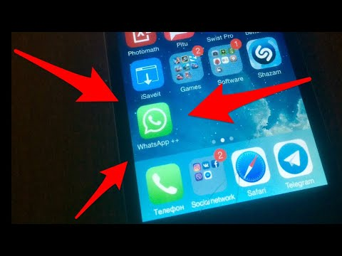 WhatsApp на IPhone 4  IOS 7.1.2 без Apple ID