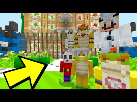 FUN HOUSE LOCKDOWN! WAR IS HERE!  Nintendo Fun House  Minecraft Switch 202