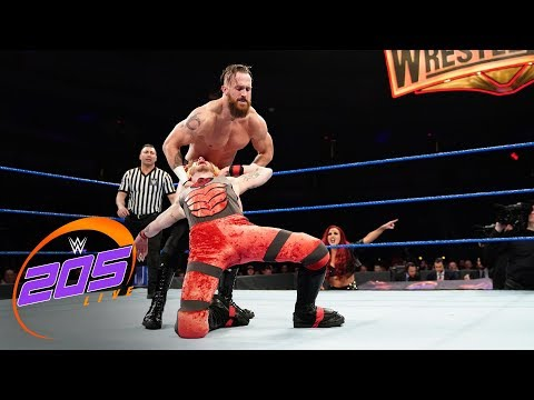 Mike Kanellis attacks a local competitor: WWE 205 Live, March 5, 2019
