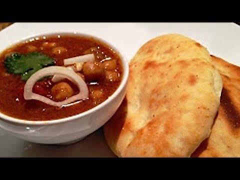 Chole Bhature Recipe By Sanjeev Kapoor | How To Make Chole Bhature | Khana Khazana