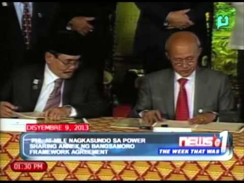 WeekThatWas: GPH at MILF, nagkasundo sa power sharing annex ng Bangsamoro framework agreement