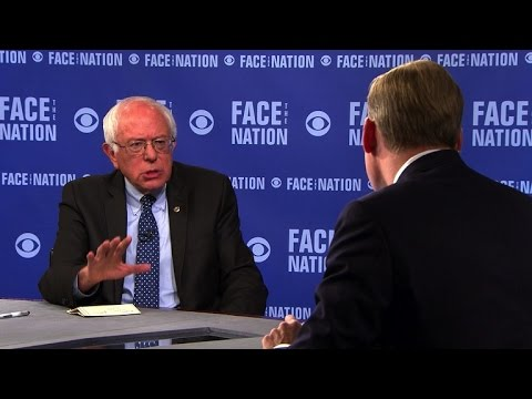 Bernie Sanders declares support for Iran nuclear agreement