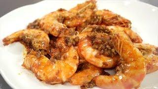 Garlic Shrimp (tom Rim)  - Cathy Ha 5 Minute Cooking/vietnamese With English Cc/subs