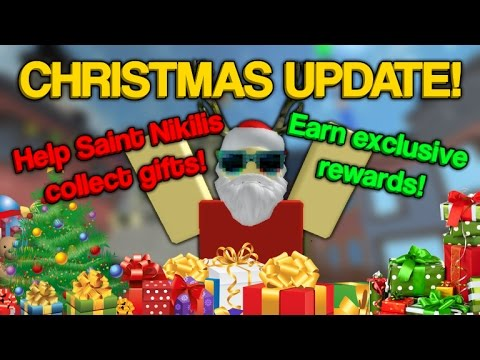 CHRISTMAS UPDATE! & Crafting   ROBLOX: Murder Mystery 2