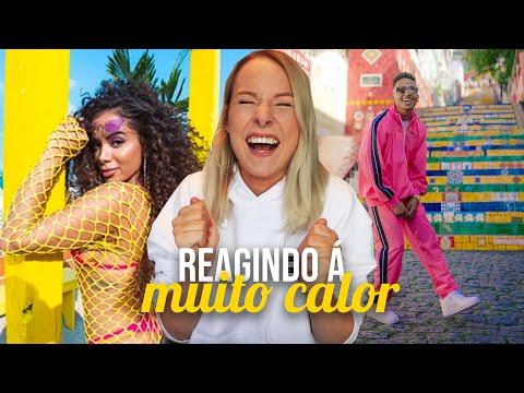 REGINDO À MUITO CALOR - ANITTA E OZUNA REACT