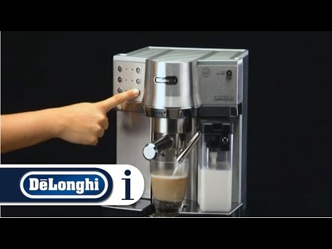 How to Make a Cappuccino  in Your De'Longhi EC 860  Coffee Machine