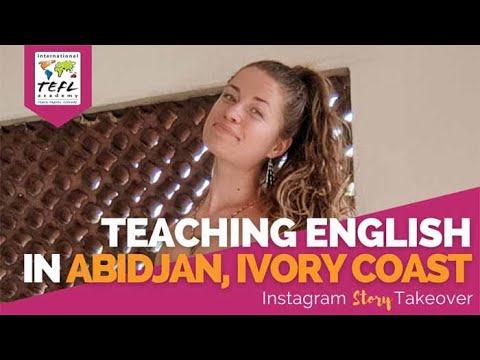 Day in the Life Teaching English in Abidjan, Ivory Coast with Emilee Slabbekoorn