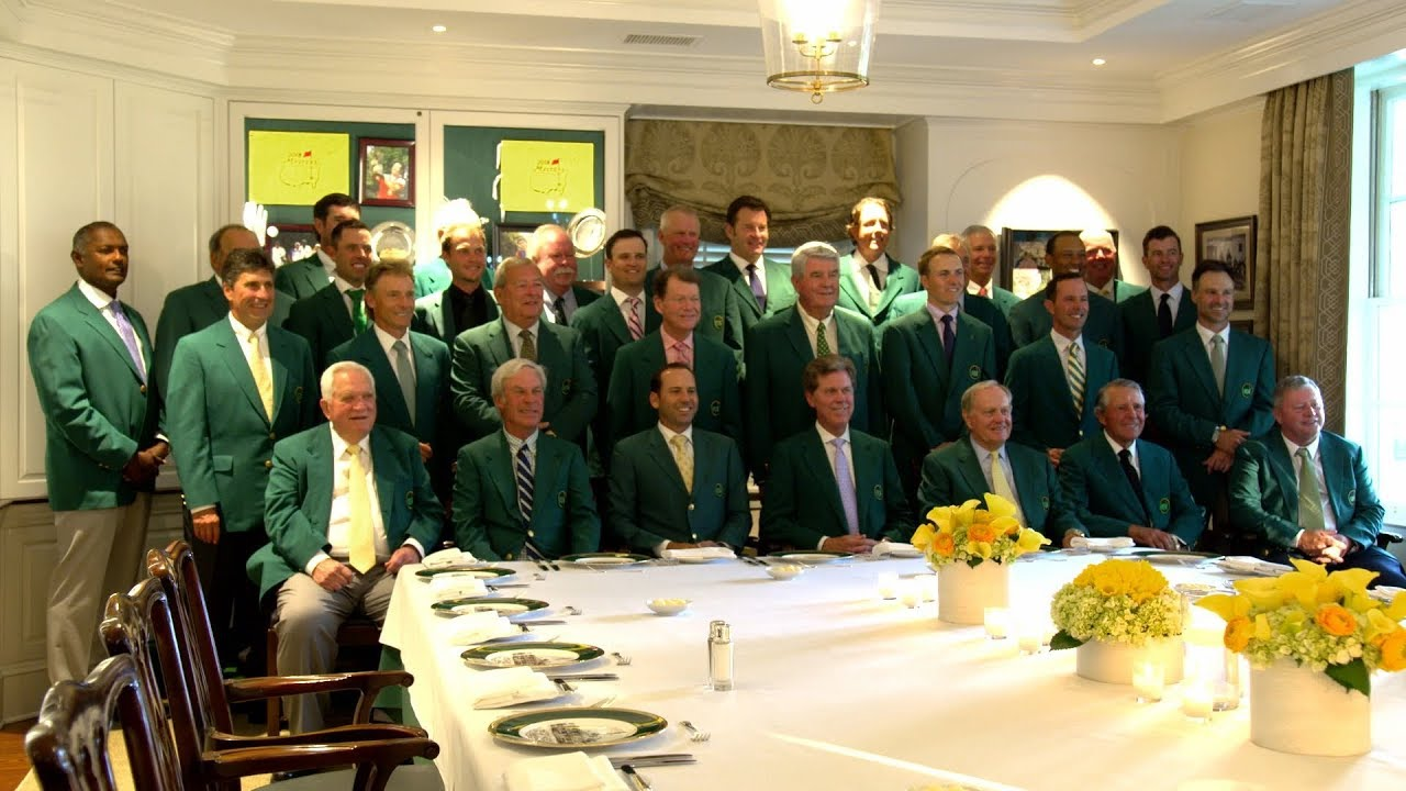 749ffc590e42cc An Intimate Look at the 2018 Champions Dinner. The Masters