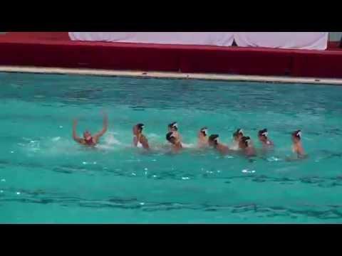2015 China Junior Open, Beijing - Aquamaids Combo Routine