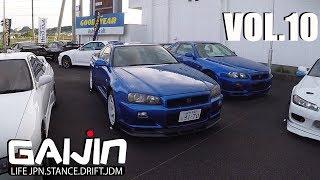 GAIJIN (vol.10) Стоянка по продаже GT-R, Silvia и Bippu car! На движениях с Японцем.