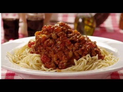 Pasta Recipe - How To Make Meaty Spaghetti Sauce
