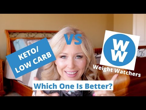 KETO/LOW CARB VS WEIGHT WATCHERS WHICH ONE IS BETTER? RESULTS FROM TRYING BOTH DIETS