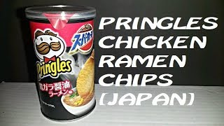 Pringles JAPAN Chicken Ramen Chips?! | Spicochist Reviews