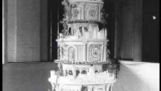 This Video Previously Contained A Copyrighted Audio Track. Due To A Claim By A Copyright Holder, The Audio Track Has Been Muted.     The Queen Mother's Wedding Cake, 1923