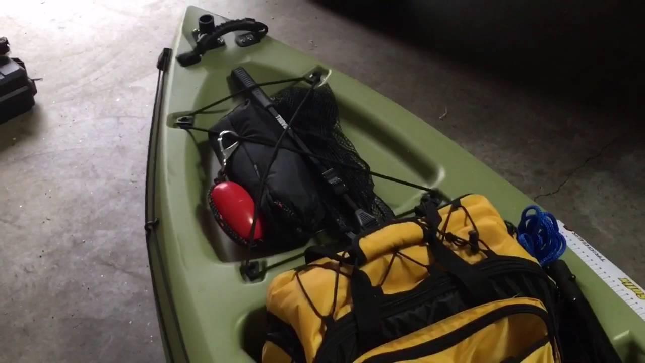 New kayak new mods diy livewell youtube for Fishing kayak with livewell