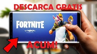 FREE DOWNLOAD FORTNITE ON ANDROID RIGHT NOW!!!