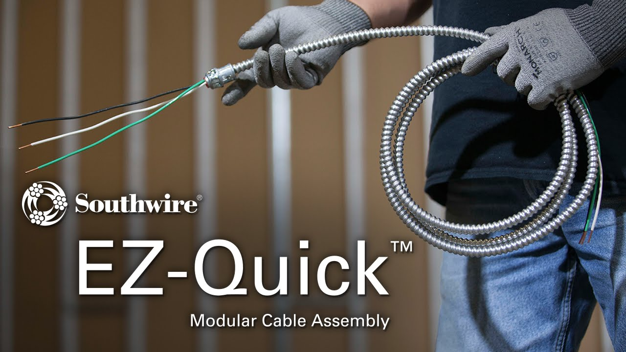 Southwire Cable Assemblies : Southwire ez quick™ modular cable assembly overview youtube