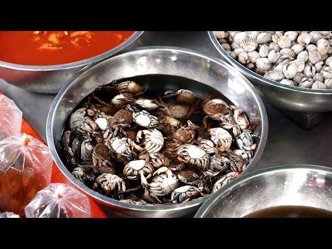 Thai Seafood Market - Chon Buri Ang Sila Market อ่างศิลา ชลบุรี