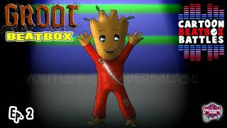 Groot Beatbox Solo - Cartoon Beatbox Battles
