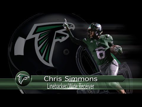 #6-Chris Simmons-WR-Palmdale High School-2015 Football Highlights-Offense