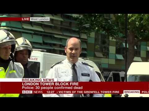 London Fire: 30 people confirmed dead - BBC News