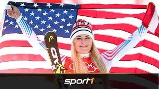 Bye, bye, Lindsey Vonn! Ihre besten Pyeongchang-Momente   SPORT1