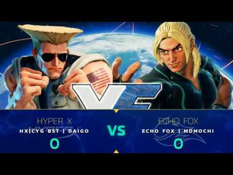SFV: HX   CYG BST   Daigo vs. Echo Fox   Momochi - Capcom Cup 2017 - CPT2017