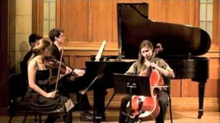 Brahms Piano Trio in B major, Op. 8 - I. Allegro con brio