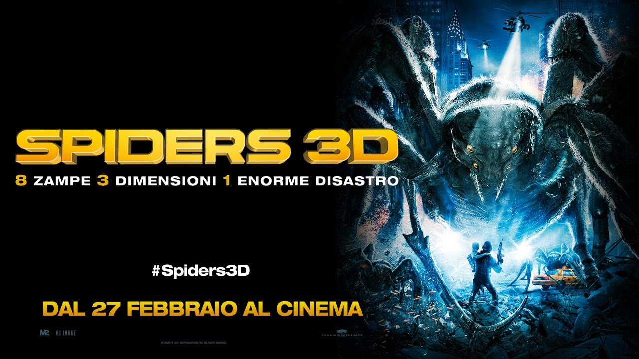 SPIDERS 3D - Trailer italiano [HD]