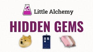How to make AĻL HIDDEN GEMS in Little Alchemy