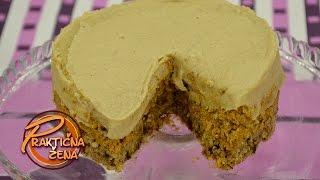 Prakticna zena - Torta od sargarepe, urme i suvog grozda