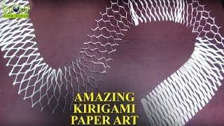 Kirigami Paper Art Tips | Simple Paper Cuting | Amazing Kirigami Paper Art | WOW Lifestyle