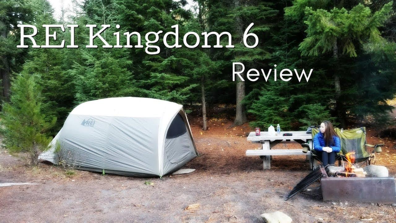 REI Kingdom 6 Tent Review & REI Kingdom 6 Tent Review - YouTube