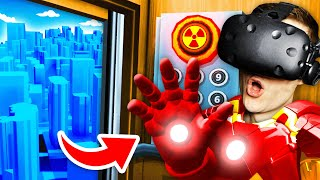 NEW Becoming IRON MAN In VIRTUAL REALITY ELEVATOR (Floor Plan VR Funny Gameplay)