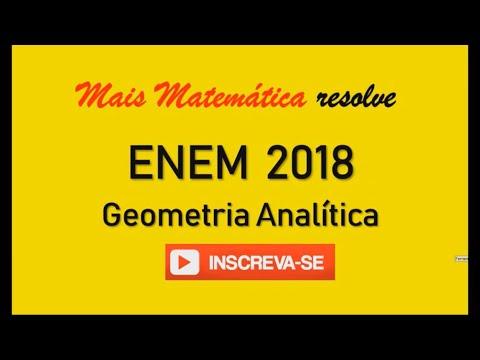 ENEM 2018 - Geometria Analítica - Para apagar os focos A e B de um incêndio, que estavam a uma