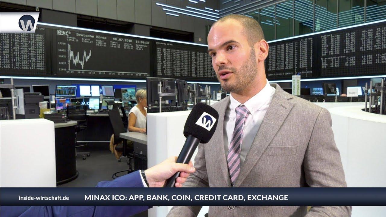 Minax ICO: App, Bank, Coin, Credit Card, Exchange