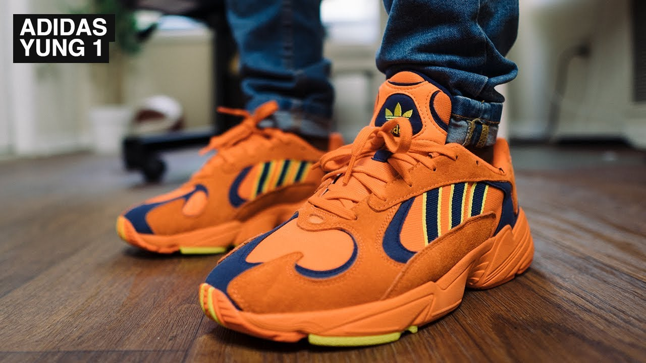03e948c85c76c1 What I Wear | adidas Yung 1 Hi-Res Orange Review + On Foot - YouTube
