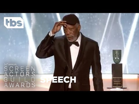 Morgan Freeman: Life Achievement Award | 24th Annual SAG Awards | TBS