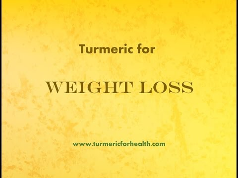 How Turmeric Helps in Weight Loss!