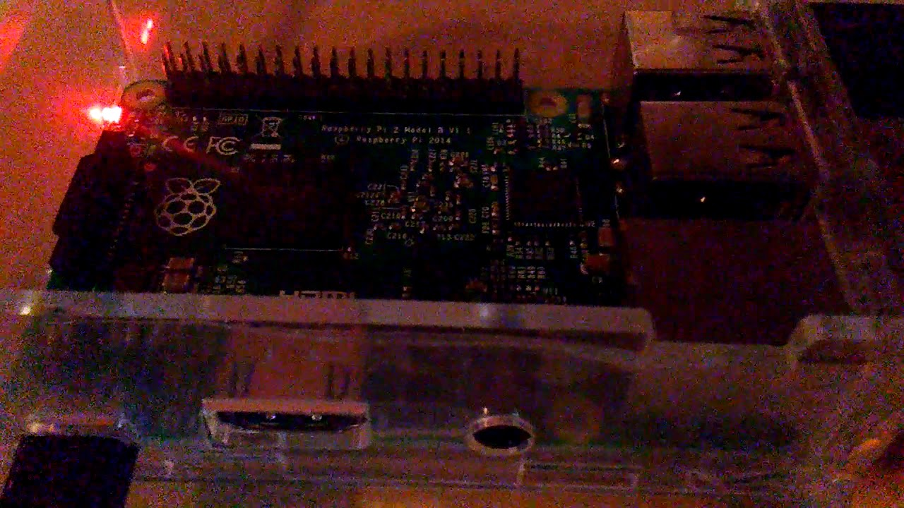 Raspberry pi running Pi-Star connected to the DV-RPTR Board