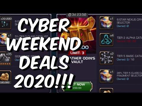 Cyber Weekend Deals 2020 – Thronebreaker First Look & Breakdown – Marvel Contest of Champions