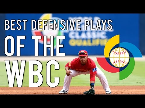 MLB | Best Defensive Plays Of The 2017 World Baseball Classic